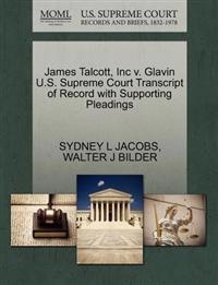 James Talcott, Inc V. Glavin U.S. Supreme Court Transcript of Record with Supporting Pleadings