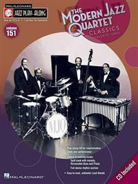 Modern Jazz Quartet Classics: Jazz Play-Along Volume 151