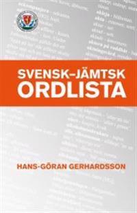 Svensk - jämtsk ordlista