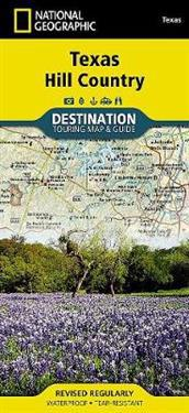 National Geographic Texas Hill Country Map