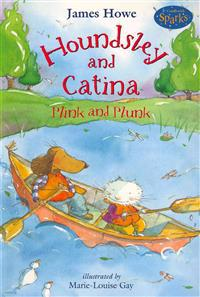 Houndsley and Catina Plink and Plunk (1 Paperback/1 CD) [With Paperback Book]