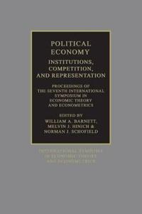 Political Economy: Institutions, Competition and Representation