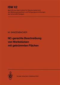 Nc-Gerechte Beschreibung Von Werkst cken Mit Gekr mmten Fl chen