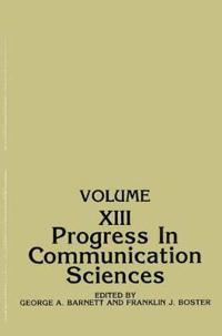 Progress in Communication Sciences