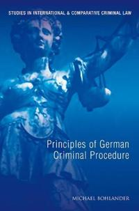 Principles of German Criminal Law