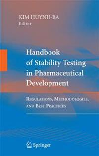Handbook of Stability Testing in Pharmaceutical Development