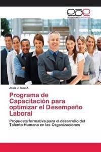 Programa de Capacitacion Para Optimizar El Desempeno Laboral