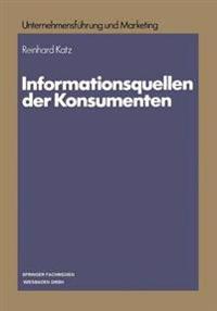 Informationsquellen Der Konsumenten