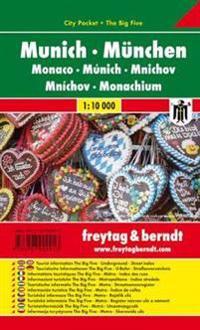 München 1 : 10 000 City Pocket + The Big Five