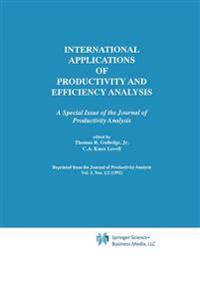 International Applications of Productivity and Efficiency Analysis