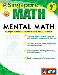 Mental Math, Grade 7: Strategies and Process Skills to Develop Mental Calculation