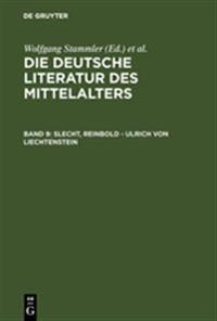 Slecht, Reinbold - Ulrich Von Liechtenstein