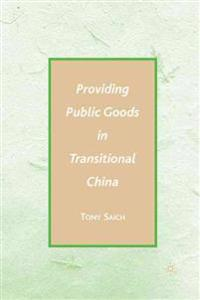Providing Public Goods in Transitional China
