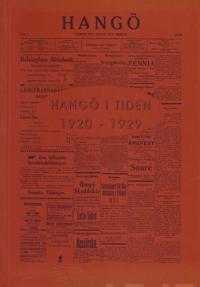 Hangö i tiden 1920-1929