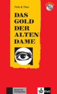 Das Gold der alten Dame (Stufe 2) - Buch mit Mini-CD