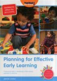 Planning for effective early learning - professional skills in developing a