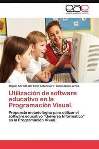 Utilizacion de Software Educativo En La Programacion Visual.