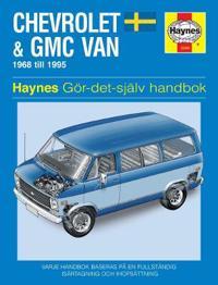 Chevrolet & GMC Vans (Swedish) Owner's Workshop Manual