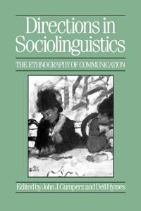 Directions in Sociolinguistics