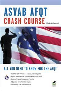 ASVAB Afqt Crash Course Book + Online