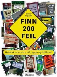 Finn 200 feil - Christer Torjussen   Inprintwriters.org