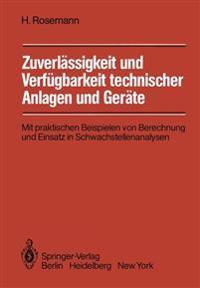 Zuverlassigkeit und Verfugbarkeit Technischer Anlagen und Gerate
