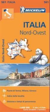 Lombardia Piemonte Valle d'Aosta Michelin 561 - 1:400000