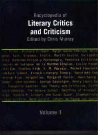 Encyclopedia of Literary Critics and Criticism