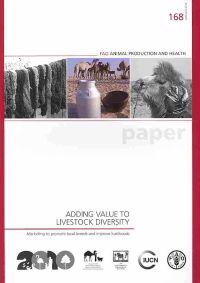 Adding Values to Livestock Diversity.