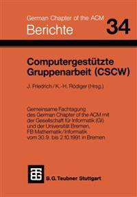 Computergestützte Gruppenarbeit Cscw