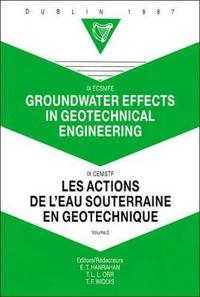 Groundwater Effects in Geotechnical Engineering