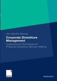 Corporate Divestiture Management