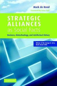 Strategic Alliances As Social Facts