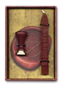 Magic Sealing Wax [With Sealing Wax and Stamp Designs]