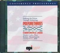 Polyurethanes Conference 2000