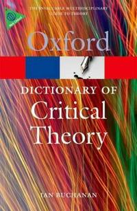 Oxford Dictionary of Critical Theory