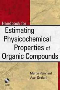 Toolkit for Estimating Physiochemical Properties of Organic Compounds [With *]