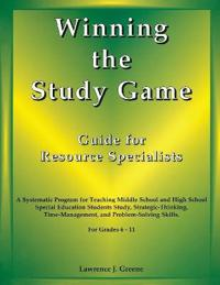 Winning the Study Game: Guide for Resource Specialists