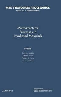 Microstructural Processes in Irradiated Materials