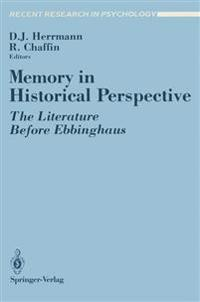 Memory in Historical Perspective