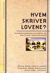 Hvem Skriver Lovene?