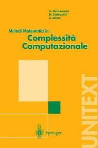 Metodi Matematici in Complessita Computazionale