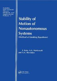 Stability of Motion of Nonautonomous Systems