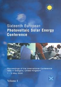 16th European Photovoltaic Solar Energy Conference