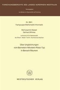 Über Ungleichungen vom Bernstein-Nikolskii-Riesz-Typ in Banach Räumen