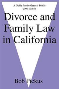 Divorce And Family Law in California