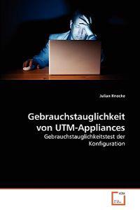 Gebrauchstauglichkeit Von Utm-Appliances