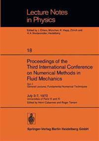 Proceedings of the Third International Conference on Numerical Methods in Fluid Mechanics
