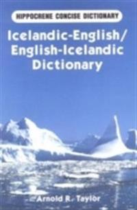 Icelandic-English/English-Icelandic Dictionary