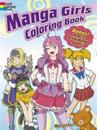 Manga Girls Coloring Book